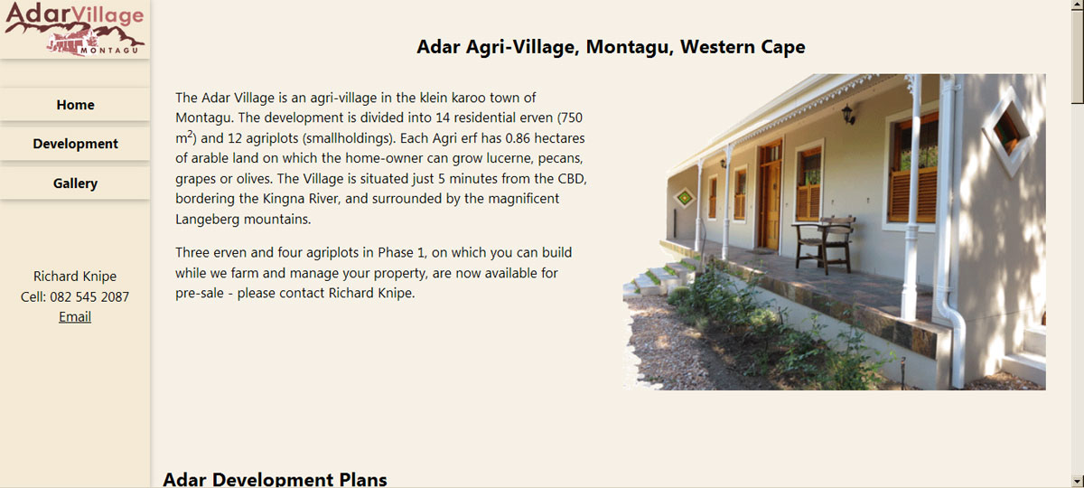 Adar Agri-village